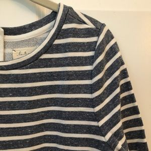 Lou & Grey Tops - Striped Sweatshirt